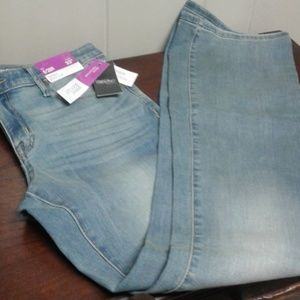 Mossimo boot cut skinny jeans
